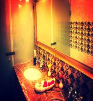 Luxury Washroom at Tribute Restaurant, Udaipur