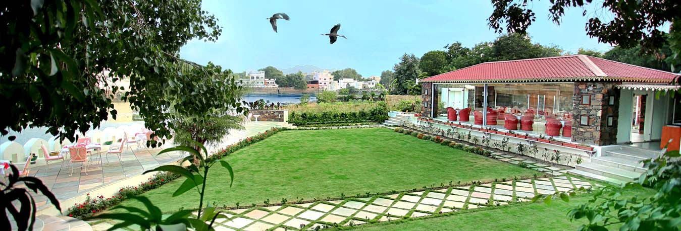 Lake View Restaurant in Udaipur